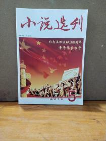 小说选刊2019-5纪念五四运动100周年青年作家专号