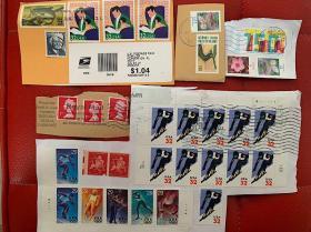 德国英国美国邮票