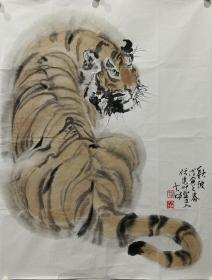 冯大中动物画