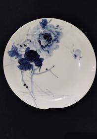 手绘瓷盘(画工漂亮)景德镇 新平瓷