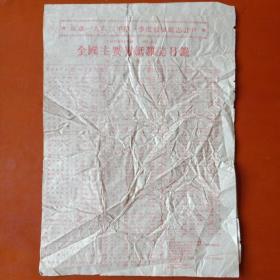 1962年第一季度全国主要报纸杂志目录