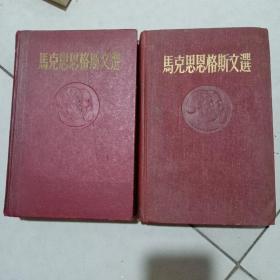 马克思恩格斯文选(两卷集全)
