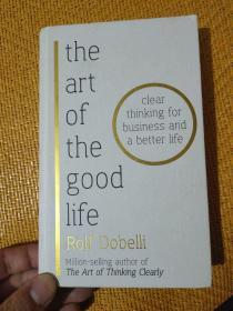 英文原版 the art of the good life