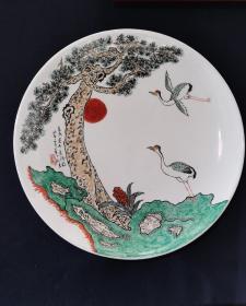 手绘瓷盘(名家手绘)