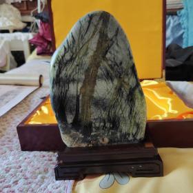 天然玉树石