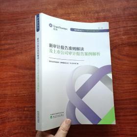 新审计报告准则解读及上市公司审计报告案例解析