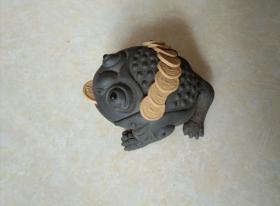 紫砂蟾蜍(招财进宝)