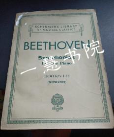 贝多芬交响乐 钢琴谱