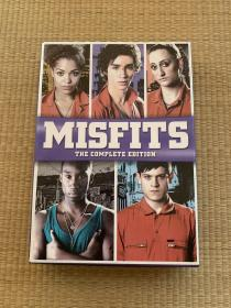 DVD/MISFITS The complete edition