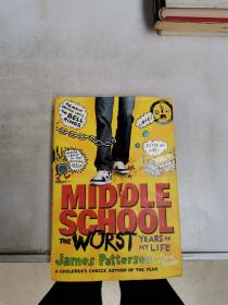 MIDDLE SCHOOL THE WORST YEARS OF MY LIFE【满30包邮】