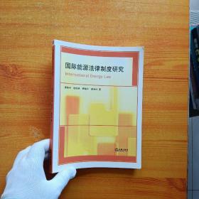 国际能源法律制度研究【内页干净】
