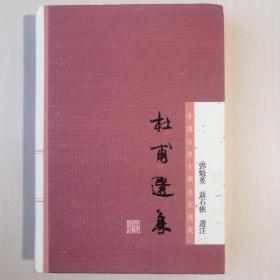 杜甫选集:中国古典文学名家选集