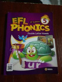 EFL PHONICS 5   有划线字迹 有2张光盘