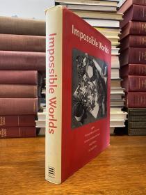 Impossible Worlds : 4 in 1    版画大师 埃舍尔M.C. Escher画选 四本书合订本 大12开精装原版铜版纸 带书衣 书重两公斤多 近400页 难得