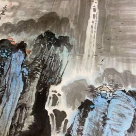 徐柏山画家山水国画