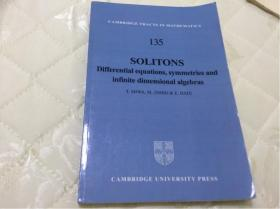 Solitons: Differential Equations, Symmetries and Infinite Dimensional Algebras