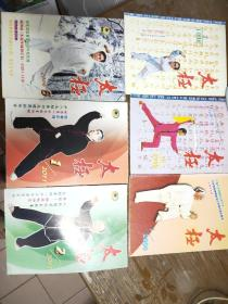 太极拳杂志1998年2.6。2000年1。2006年6。2011年1.2.3.4.5.6全。共10本。