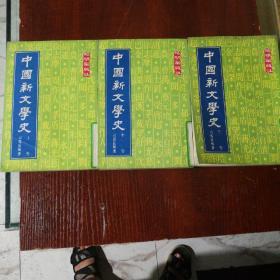 中国新文学史 上中下