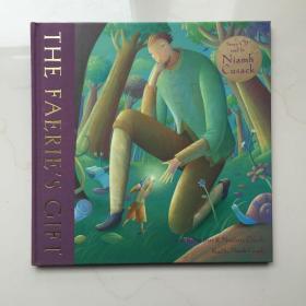 THE  FAERIES GIFT HC W CD   英文儿童绘本  带音频CD  精装绘本