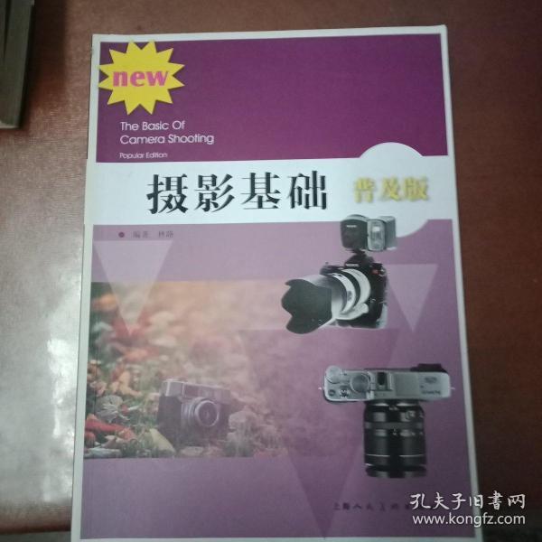 摄影基础(普及版)/高等院校摄影摄像基础教程