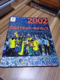 2002韩日世界杯官方总结 日文原版画册