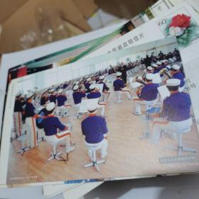 中国邮政明信片:大连市第44中学-校管乐队