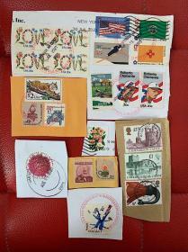 美国英国邮票03