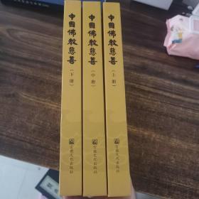 中国佛教慈善(上中下册)