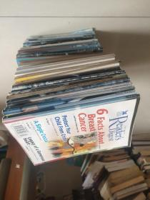 READER'S DIGEST-1996,1997,1998和1999共44本合售, 私藏不重复 (其中1996年16本,1997-15本,1998- 5本,1999-8本)   净重6.4KG