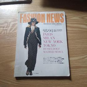 外文原版 '93 '94冬时装流行 服装 杂志