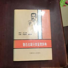 鲁迅名篇分类鉴赏辞典(精装品好)