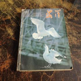 海洋(1984年1-12期全)用线合订一册
