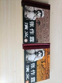 张作霖演义、中、下 两册