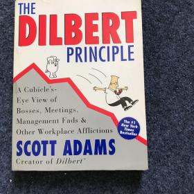 英文原版 有连环漫画插图:The Dilbert Principle