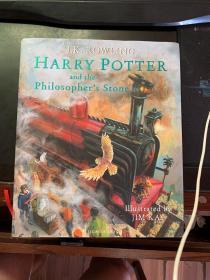 Harry Potter and the Philosopher's Stone 【英国彩绘版!哈利波特与魔法石】