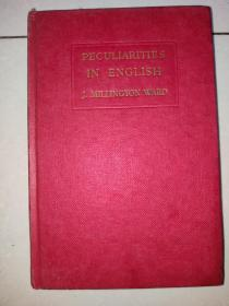 peculiarities in english