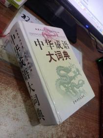 中华成语大词典 精装