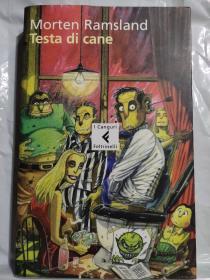 TESTA DI CANE 意大利语原版<狗头> 有书香味  20开好品
