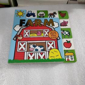 Lift-The-FlapTabBoardBook:Farm(存放48层)