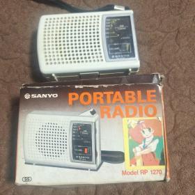 日本三洋便携式收音机