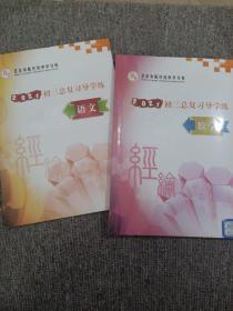 北京市陈经纶中学分校 2021初三总复习导学练 数学 语文 两本合售