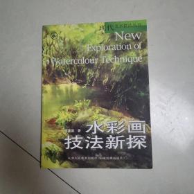 现代美术技法丛书:水彩画技法新探
