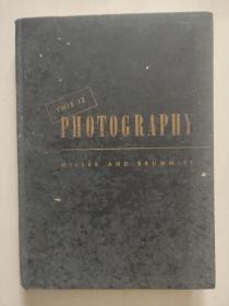 THIS IS PHOTOGRAPHY 英文原版 1945年 《摄影深度技术》高级纸张印制 布面精装18开