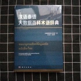 汉语泰语大数据百科术语辞典【全新书】未拆封
