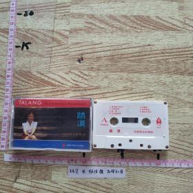 磁带:  踏浪~朱晓琳女声独唱(立体声)