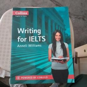 collins writing for lelts+Reading for IELTS+Listening for IELTS+speaking for LELTS(4本合售)附4张光盘【内页稍微有点字迹,不影响使用】