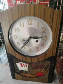 文革时期北极星老座钟一个