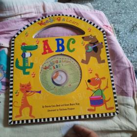 Wee Sing & Learn ABC (Wee Sing and Learn) Audio CD认识字母 英文原版