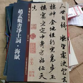 老碑帖系列:赵孟頫书净土词·海赋
