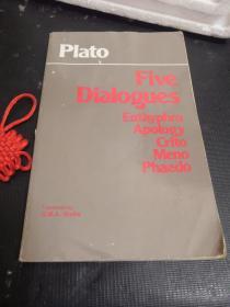 Plato - Five Dialogues:Euthyphro, Apology, Crito, Meno, Phaedo